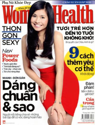 Women's Health - Phụ Nữ Khỏe Đẹp (Tháng 2 & 3 - 2014)