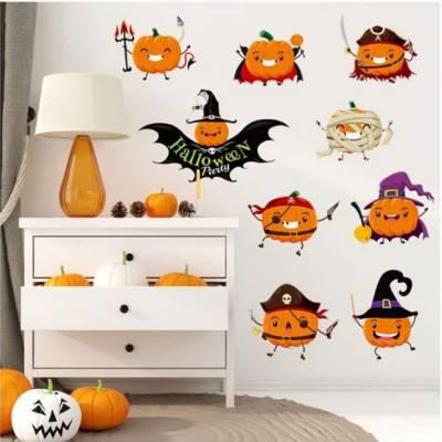 Decal Dán Tường Halloween 8