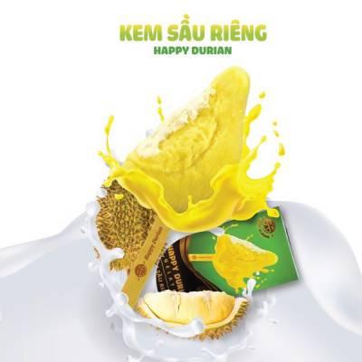 Kem múi sầu riêng Happy Durian Gelato 65 gr