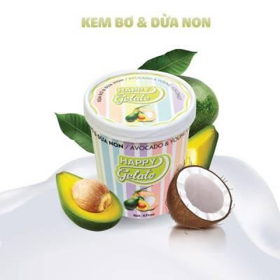 Kem Bơ Dừa Non 475ml