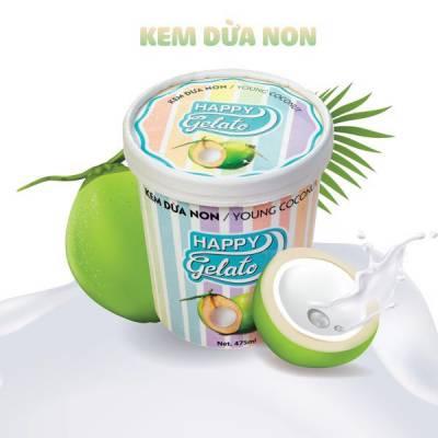 Kem Dừa Non 475ml