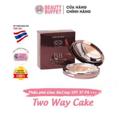 Phấn phủ Gino McCray Heritage BB Premium Brightening Two Way Cake SPF 37 PA+++ 14g