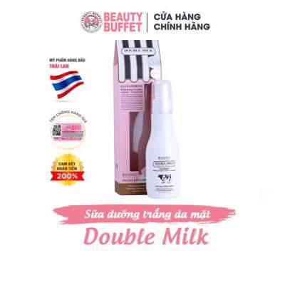 Sữa dưỡng da mặt chiết xuất từ sữa bò Scentio Double Milk 150ml