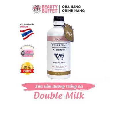 Sữa tắm trắng da Scentio Double Milk Triple White 350ml