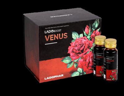 Ladoboost Venus nước uống tăng cường tiết tố nữ - Hộp 10 chai 50ml
