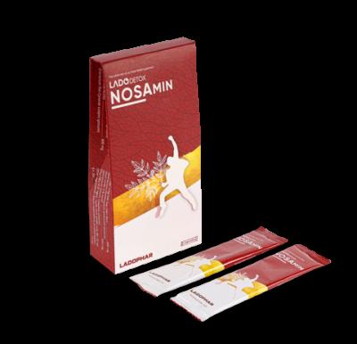 Nước giải bia rượu Nosamin - Hộp 10 Gói 15ml