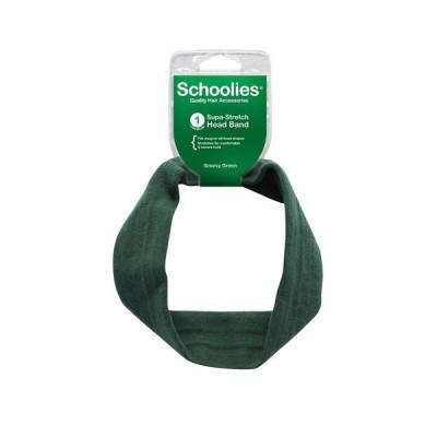 Băng đô cài tóc vải thun thể thao supa stretch xanh lá đậm