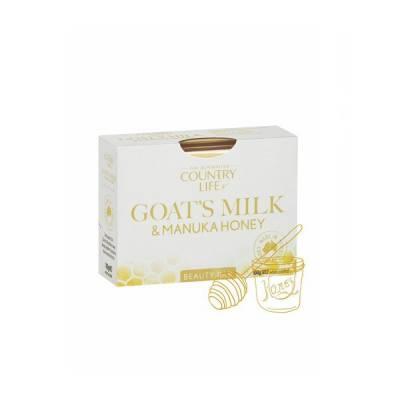 Xà bông cục Country Life Goat's Milk Úc 100g chiết xuất sữa dê và mật ong
