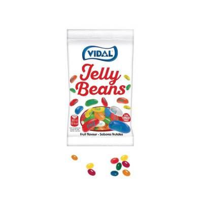 Kẹo dẻo hình hạt đậu Vidal gói 100g