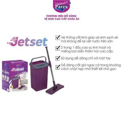 Bộ lau nhà cao cấp Jetset 2 buồng vắt khô và chứa nước