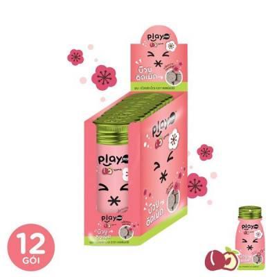 12 Gói kẹo xí muội  playmore gói 12g