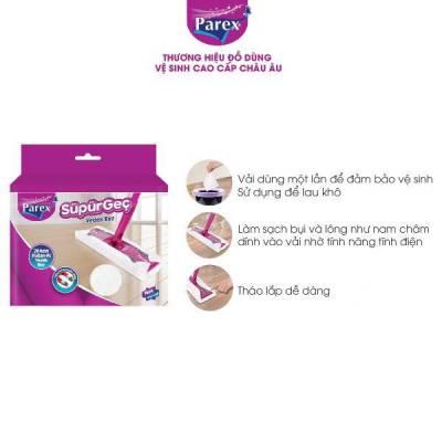 Bông lau khăn ướt thay thế vào cây lau nhà bằng miếng khăn ướt cao cấp Parex