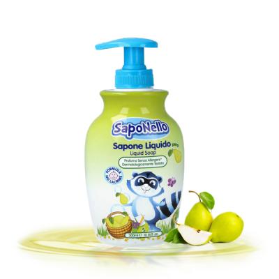 Sữa rửa tay trẻ em Saponello Ý hương quả lê 300ml