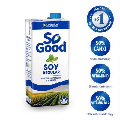 Sữa hạt đậu nành So Good 1L