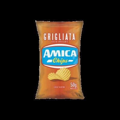 Khoai tây chiên cắt lát Amica 50g