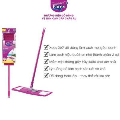Cây lau nhà cao cấp Parex Effective Microfiber Flat Mop