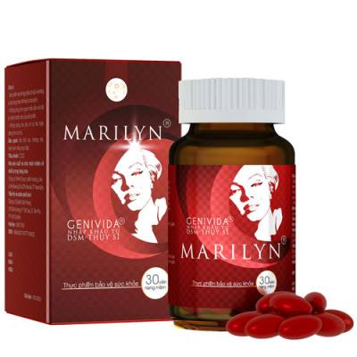 Yêu thích Viên uống Marilyn, hỗ trợ giúp cải thiện sinh lý nữ