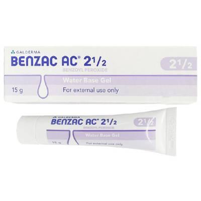 Yêu thích Benzac AC 2,5%, giúp điều trị mụn đầu đen, mụn đầu trắng và tiêu sưng