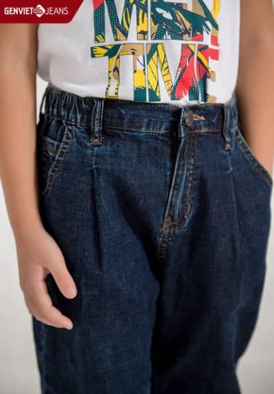 NQ104J1788 - Quần Dài Jeans Nữ Col Thụng