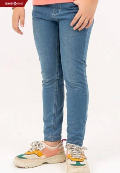 NQ102W866 - Quần Dài Jeans Bé Gái