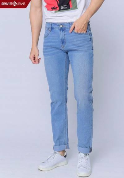 T1102J1053 - Quần Dài Jeans Nam