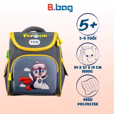 Balo CG Genius Box F2-Penguin B-12-105 Xám