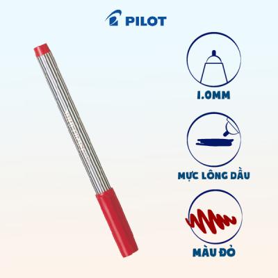 Bút ball liner mực đỏ BL-5M-R