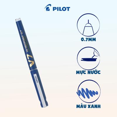 Bút mực nước Hi-tech V7 Cartridge System mực xanh BXC-V7-L-BGD