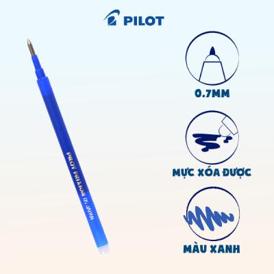 Mực bút xóa được Frixion ball Clicker mực xanh BLS-FR5-L-ME