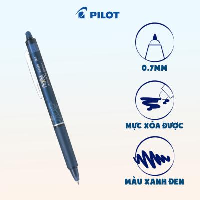 Bút xóa được Frixion ball Clicker mực xanh đen BLRT-FR7-BB-ME