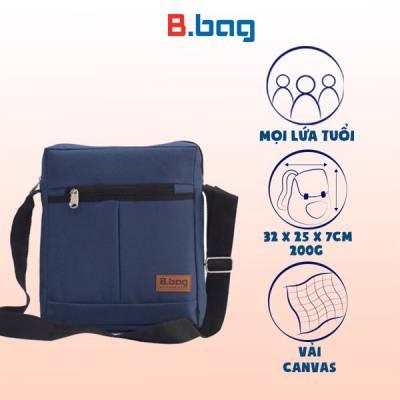 Túi đeo chéo đứng màu xanh