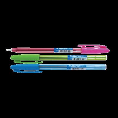 Bút bi dạng nắp H-034 xanh