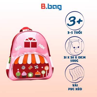 Balo tiệm bánh B-12-027 màu hồng