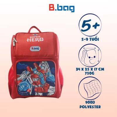 Balo Chống Gù Adventure Box-Super Hero B-12-114 Đỏ