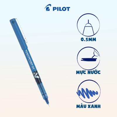 Bút mực nước Hi-tech V5 mực xanh BX-V5-L