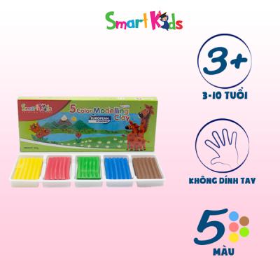 Đất nặn hộp giấy 5 màu thường SK-BX5R