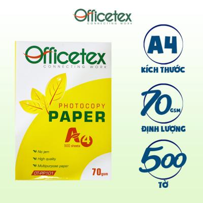 Giấy in ấn A4 OT-PP101 (1 Ram giấy)