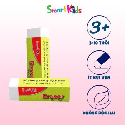Gôm tẩy trắng Smartkids SK-ER010WT (32 CỤC/HỘP)