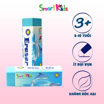 Gôm tẩy xanh dương Smartkids SK-ER010BU (32 CỤC/HỘP)