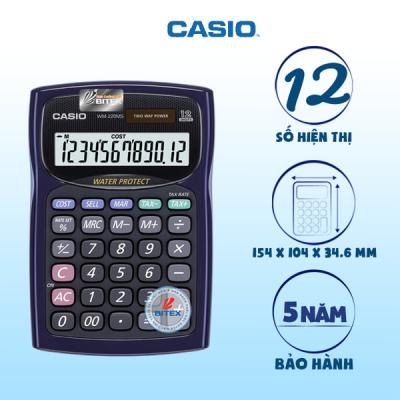 Máy Tính Casio WM-220MS