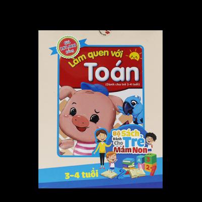 Bộ sách phát triển năng lực cho trẻ từ 3 đến 4 tuổi