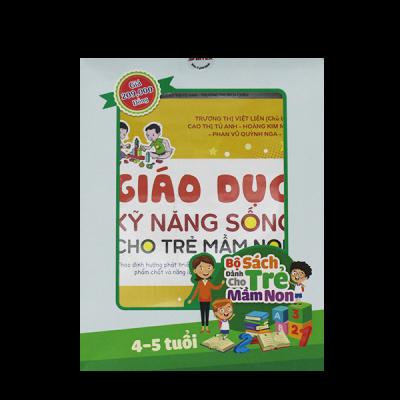 Bộ sách phát triển năng lực cho trẻ từ 4 đến 5 tuổi