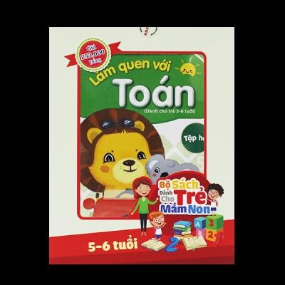 Bộ sách phát triển năng lực cho trẻ từ 5 đến 6 tuổi