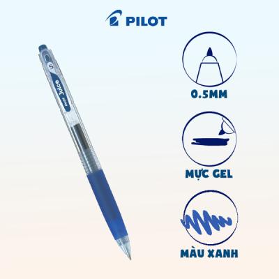 Bút gel Juice mực xanh đen BB (tip 0.5) LJU-10EF-BB-EX