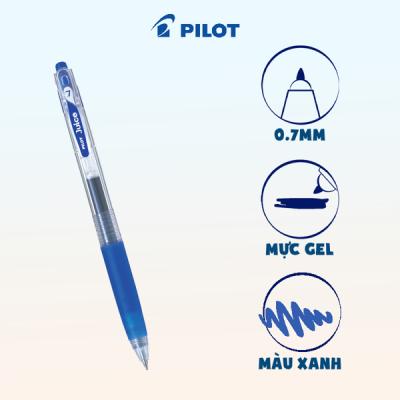 Bút gel Juice mực xanh (tip 0.7) LJU-10F-L-EX