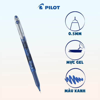 Bút gel P50 mực xanh BL-P50-L