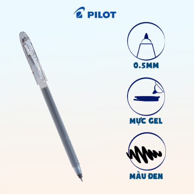 Bút Super Gel mực đen BL-SG-5-B