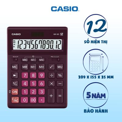 Máy tính Casio GR-12C-WR