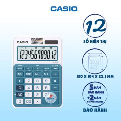 Máy tính Casio MS-20NC xanh dương