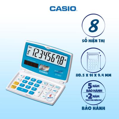 Máy tính Casio SL-100VC xanh dương
